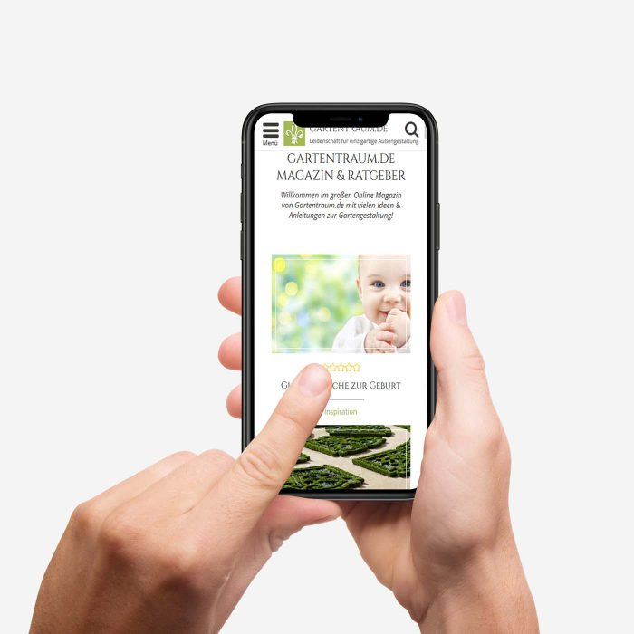Gartentraum mobile Ansicht
